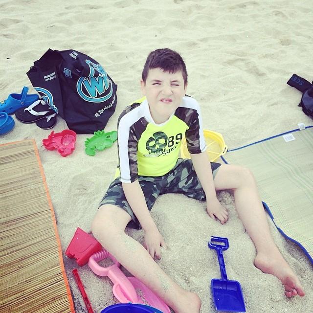 Puffer on Beach